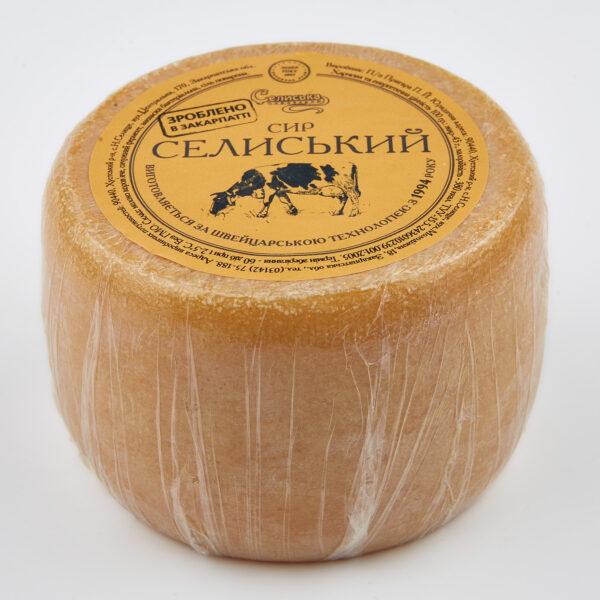 крафтовий напівтвердий сир Селиський
