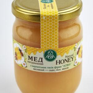 Мед весняний 500 мл