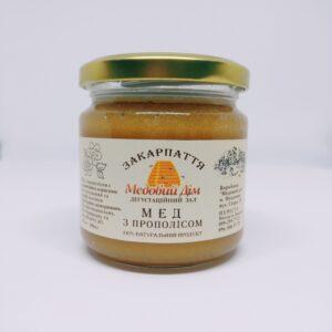 Мед з прополісом 200 мл
