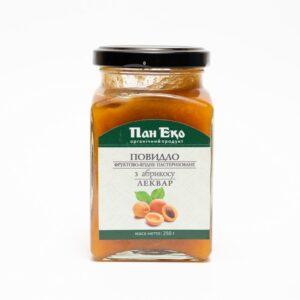 Леквар абрикосовий органічний, 250г